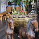 Thailändska trähästar