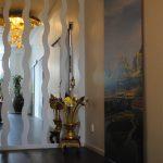 Skjutdörrar med motiv från Bangkoks tempel