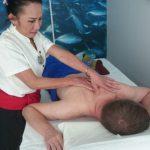 Kvalificerad massage ger ny energi...